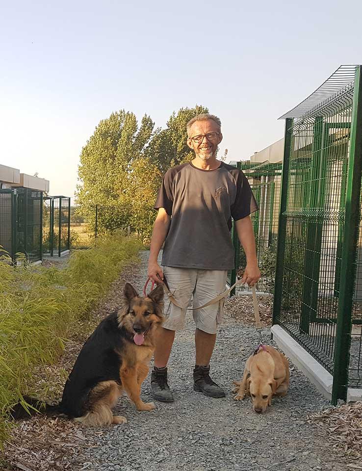 Philippe Ripoche, éducateur et comportementalisme canin aux Herbiers Vendée
